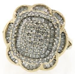 Multi Diamond Cluster Ring at 1.20 CTW