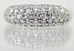 14kt Gold Designer 1 Carat Diamond Ring