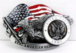 U.S. Army Enameled Belt Buckle