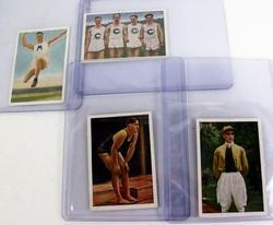 4 Early German Sports Trade Cards