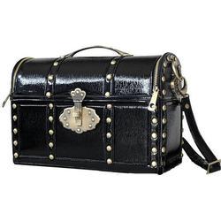 Black Treasure Box Bag