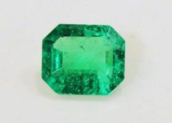 CompellingNatural Emerald Octagon - 0.78 ct.