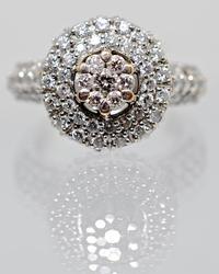 Eye-Catching High End Diamond Cluster