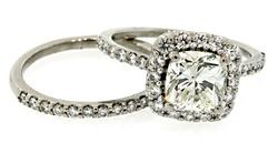 Ritani 2.74 CTW Diamond Bridal Set