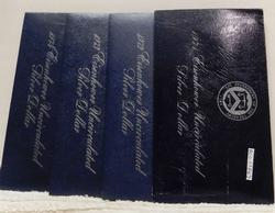 set of 4, Silver (40%) Unc 1971-74 Ike Dollars