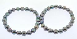Lot of two Gemstone Bracelets