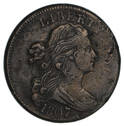 1807/6 Draped Bust Large Cent- Circulated