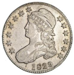 1829 Capped Bust Half Dollar- Circulated