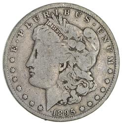 1895-O Morgan Silver Dollar- Circulated