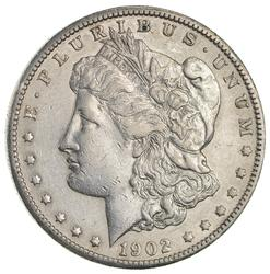 1902-S Morgan Silver Dollar- Circulated