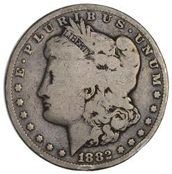 1882-CC Morgan Silver Dollar- Circulated