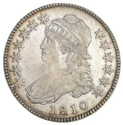 1810 Capped Bust Half Dollar- Circulated