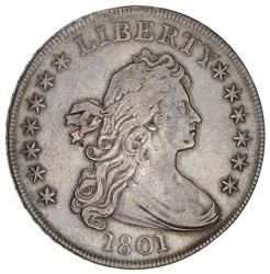 1801 Draped Bust Dollar- Circulated