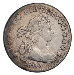 1807 Draped Bust Dime- Circulated