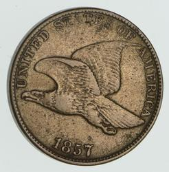 1857 Flying Eagle Cent - Circulated