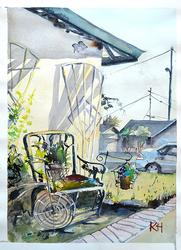 Kellie Hales Original Watercolor