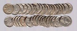 Roll of 40 Full Date Buffalo Nickels