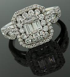 Exquisite Multi Diamond Ring in 18K