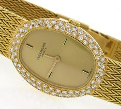 Ladies Patek Philippe in 18K with Diamonds, #1/4500