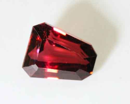 Natural Untreated Deep Red Tourmaline - 5.60 cts.