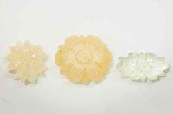 Lot of 3 Moonstone Carvings  25.42 cts.