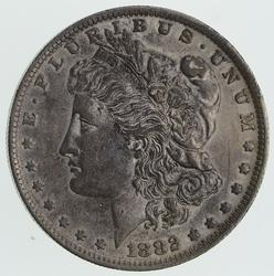 1882-O/S Error Morgan Silver Dollar - Circulated