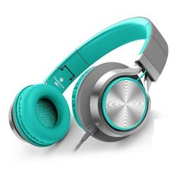 Folding Headphones with Microphone and Volume Control