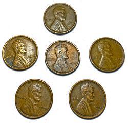 6 Nicer 1909 VDB Cents