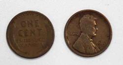 12 Pre 1930 Lincoln Cent rolls