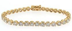 Epic 11+ Carat Diamond Tennis Bracelet