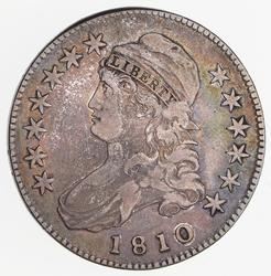 1810 Capped Bust Half Dollar - Circulated