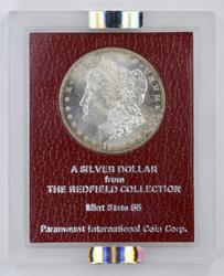 MS65 Hisoric Redfield Collection 1900-S Morgan Silver Dollar - NGC Graded