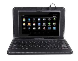 7-inch Quad Core Tablet with Keyboard & Dual Camera
