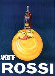 Incredible Vintage Poster Apertif Rossi