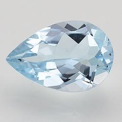 Pear Cut Natural Blue Topaz Loose Gemstone