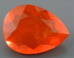 Vibrant 2.6+ Carat Mexican Fire Opal