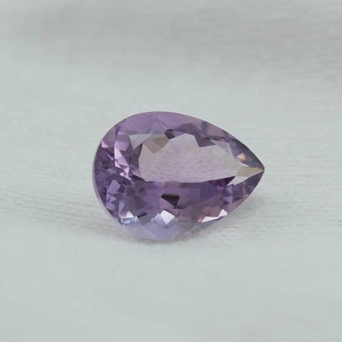 Purple Pear Cut Amethyst