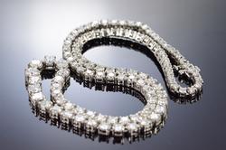 Platinum 15+ Carat VS Diamond Necklace