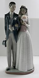 Lladro Wedding Day Black Legacy Collection