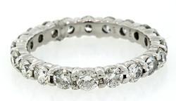 29 Diamond Shared Prong Eternity Band