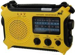 Emergency 5-Power Source Radio Flashlight Power Bank