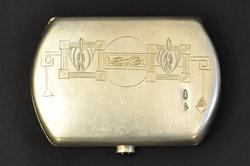 Unique Russian Imperial Purse Royal Silver