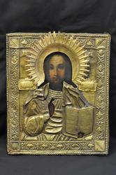 Rare Icon Jesus the Savior 1900's