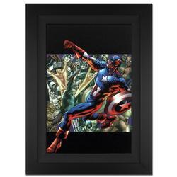 Amazing Framed Spider-Man Marvel Comics Certified Art!