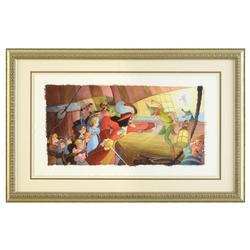 Toby Bluth Framed Limited Edition Giclee, Hand Signed!