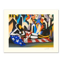 Mark Kostabi Limited Edition Serigraph America