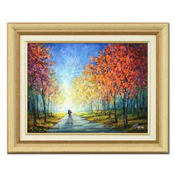 Mark Braver - Framed Original Oil Painting on Canvas