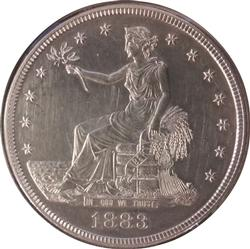 1883 Proof Trade Dollar, 979 minted