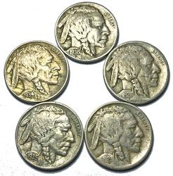 Lot of Laminated Buffalo Nickels