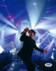 Justin Timberlake Live Concert Dancing Autographed Sign